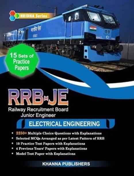 RRB-JE (RAILWAY RECRUITMENT BOARD JUNIOR ENGINEER) in Electrical Engineering