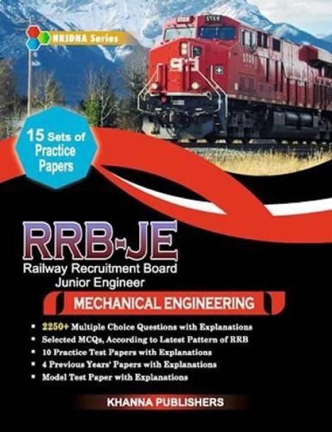 RRB-JE (RAILWAY RECRUITMENT BOARD JUNIOR ENGINEER) in Mechanical Engineering