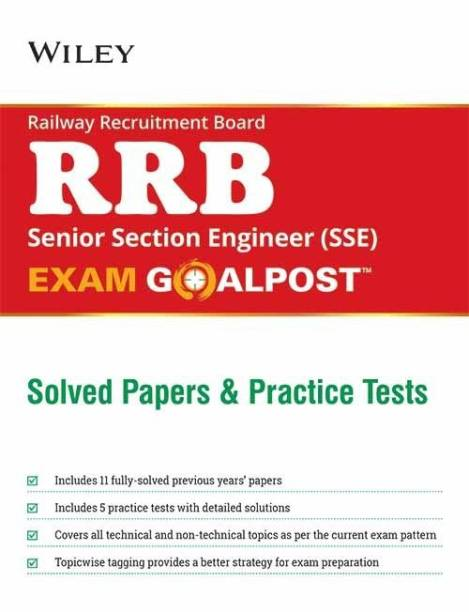 Wiley'S Railway Recruitment Board (Rrb) Senior Section Engineer (SSE) Exam Goalpost, Solved Papers a