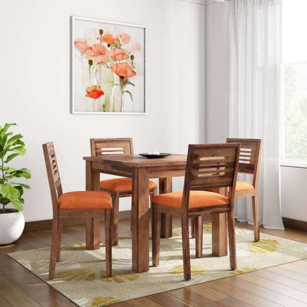Home Edge Sheesham Wood Solid Wood 4 Seater Dining Set