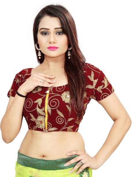 2eea4b1b2b722 Embroidered Blouse - Buy Embroidered Blouse online at Best Prices in ...