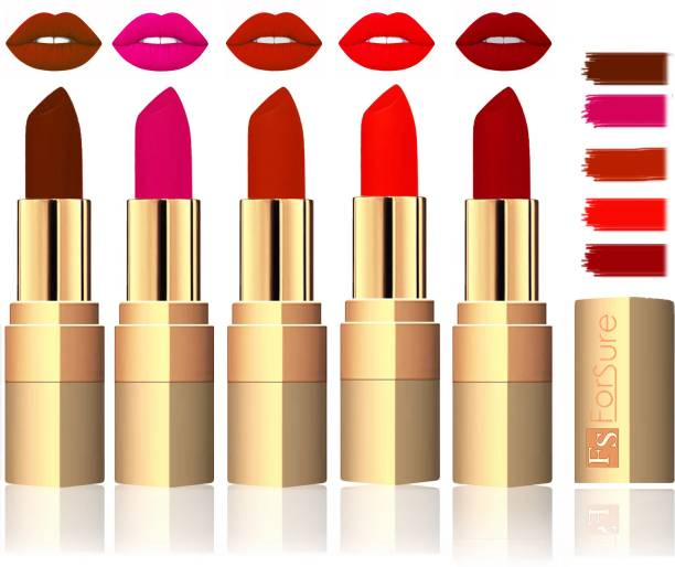 ForSure Extra Soft & Smooth Velvet Matte Lip Color Combo In Wholesale Rate