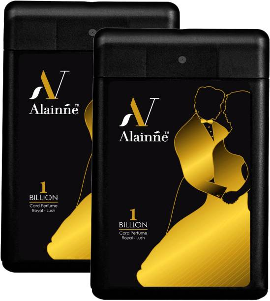 ALAINNE Billion Ultra- Marine Pocket Perfume Twin Pack For Men(18ML Each) Perfume  -  18 ml