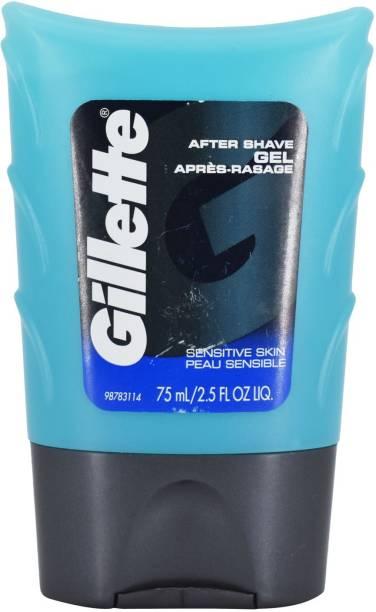GILLETTE After Shave Gel, Sensitive Skin - 75ml (2.5oz)