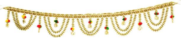 4cbb3a86159 BAANSURI attractive and elegant multicolour toran bandarbar bandarwal for main  door temple door