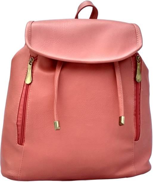 4aae6fb68d Flair Bags PU Purse Mini Backpack Leather bag for Women & Girls  (MINIBPCK-Peach