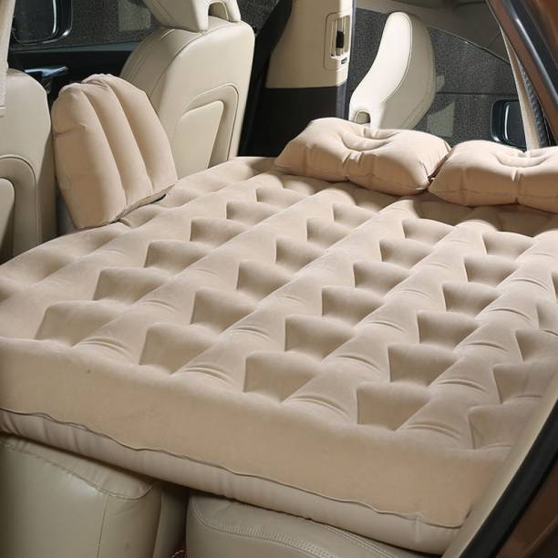 BK 10 IMPORT & EXPORT NEW BED-1 Inflatable Beds Car for Back Seat Mattress Air Back Seat Backseat Cushion Camping Travel Outdoor Rest (New Design) Car Inflatable Bed
