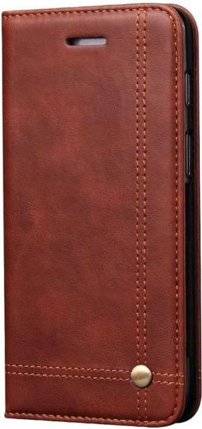 Pirum Flip Cover for OnePlus 6