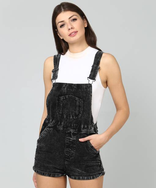 4e99ca89a24 Forever 21 Dungarees - Buy Forever 21 Dungarees Online at Best ...