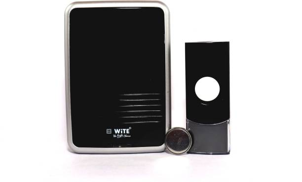 WiTE The Right Choice - LINO Wireless Electronic Door Bell (Black) - 36 In 1 wireless calling bell with L.E.D Indicator - Wireless Door Chime