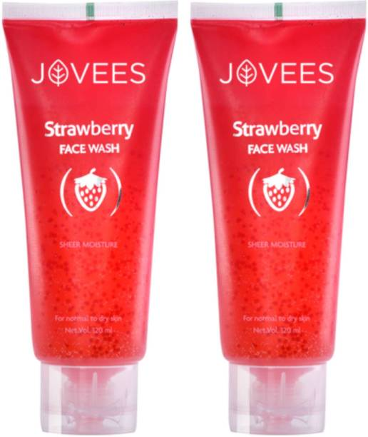 JOVEES Strawberry Sheer Moisture  Face Wash