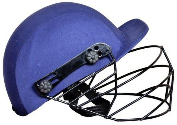 SPORTSHOLIC Men's Blue Full Cricket Helmet For Men, Women, Boys 13 Years And Above Cricket Helmet