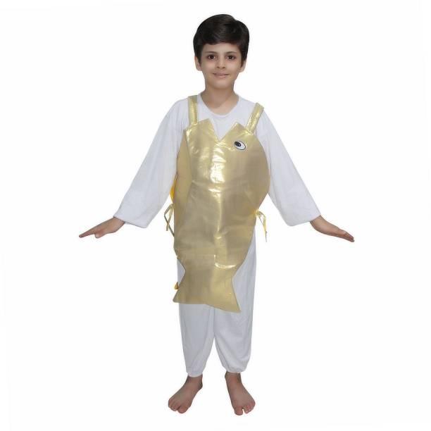 d9e04b48247 Kaku Fancy Dresses Golden Fish fancy dress for kids