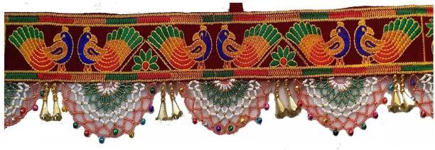 alfaent Bandhanwar Toran-D3 Maroon Toran
