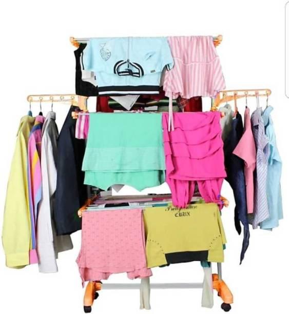 TNC Steel Floor Cloth Dryer Stand 90057