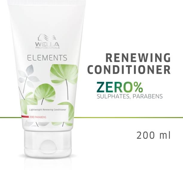Wella Professionals Elements Light Renewing Conditioner, Paraben Free