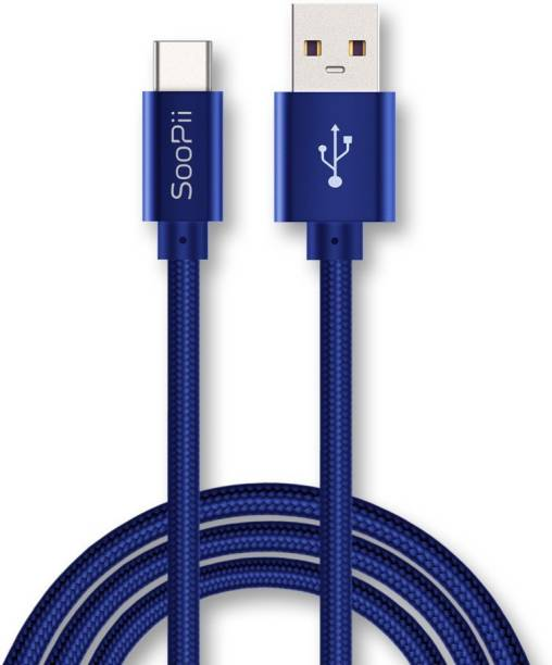 Soopii up to 5A Quick Charging 1 m USB Type C Cable