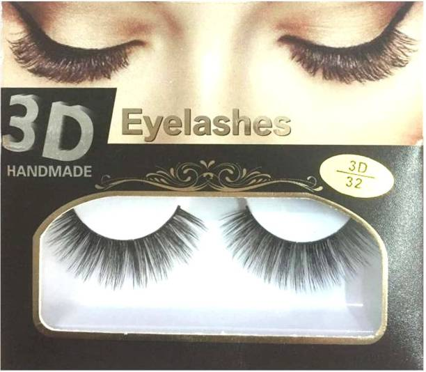 BELLA HARARO 3D Mink Eyelashes Handmade Eyelashes for Girl, Eyelashes for Women (Pack of 1 Pair)