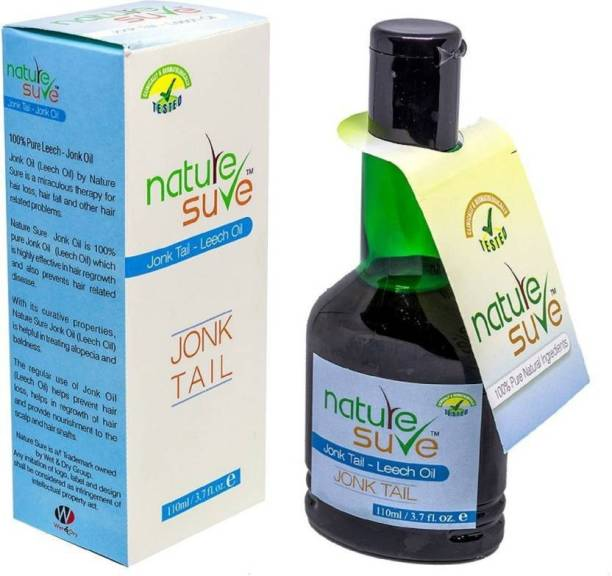 Nature Sure Jonk Tail – Leech Oil Hair Oil (100 ml) Hair Oil