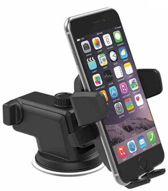 13e7937982c Klick N Shop Car Phone Mount Adjustable and Universal Windshield Dashboard  with One-Touch Design
