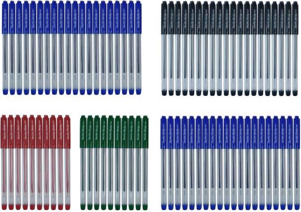 Rorito FASTYGEL GEL PEN (BLUE) 40 Pcs+FASTYGEL GEL PEN (BLACK) 20 Pcs+FASTYGEL GEL PEN (RED) 10 Pcs+FASTYGEL GEL PEN (GREEN) 10 Pcs Gel Pen