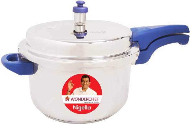 WONDERCHEF Nigella Blue 5 L Induction Bottom Pressure Cooker