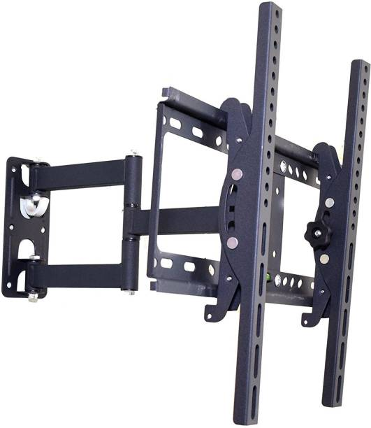 """AlexVyan New Movable Wall Mount Stand ( GERMAN CERTIFIED ) 26 to 55"""" ( 26 30 32 40 42 46 52 55 inch) 180 Degree Rotatable LCD Plasma LED Bracket for all type of TV LCD Full Motion TV Mount"""