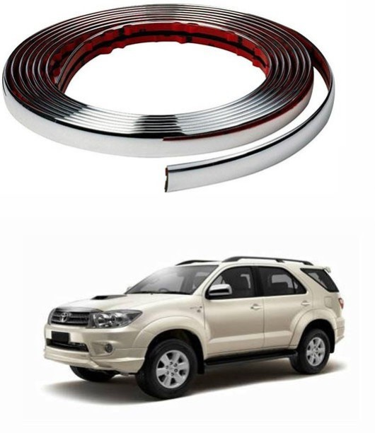 Car Chrome Styling Decoration Moulding Trim Strip 12mm R SODIAL