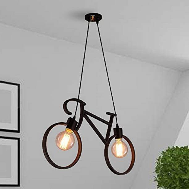 Brightlyt Antique Cycle Hanging Ceiling Pendant Light for Home Decor. (_WITH OUT BULB_) Pendants Ceiling Lamp
