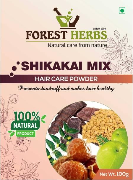 Forest Herbs 100% Natural Shikakai Mix Powder