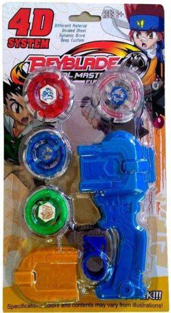 Gift World 4 D System Metal Masters Fury Beyblade