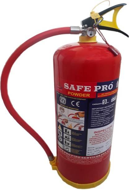 Safepro ABC Powder type 9 K.G. Fire Extinguisher Fire Extinguisher Mount