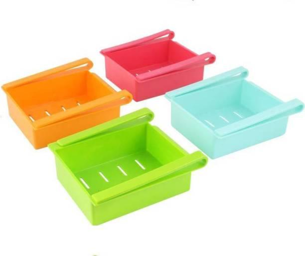 Lion Lender Exclusive Fridge Rack, Fridge Storage, Organizer, Organizer Box, Kitchen Organizer, Storage Box, Rack, Shelves , Fridge Tray Fruits/Vegetables Kitchen Rack