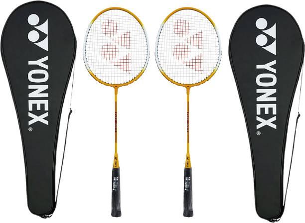 YONEX GR-303 Yellow Strung Badminton Racquet