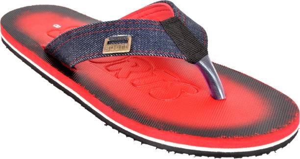 e8f0525ce4f5f6 Ajeraa Ajeraa PD-41 Red Slippers