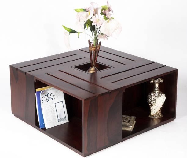 Ikiriya CTSW0380-3-0 Solid Wood Coffee Table