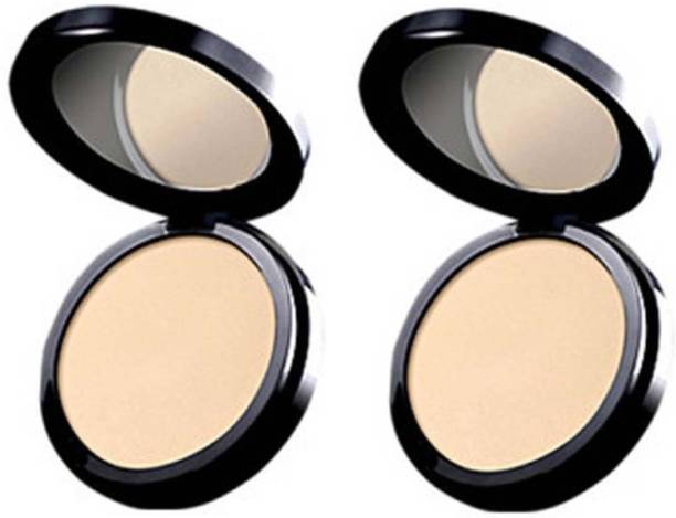 Oriflame Sweden two PURE COLOUR PRESSED POWDER Compact 20 g Compact