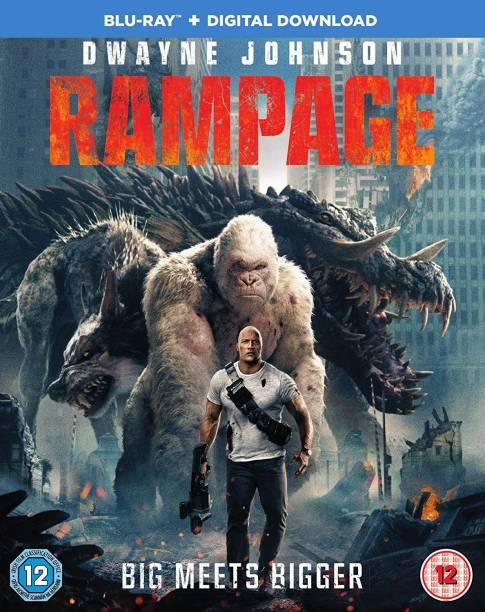 Rampage (Blu-ray + Digital Download) (Slipcase Packaging + Region Free + Fully Packaged Import)