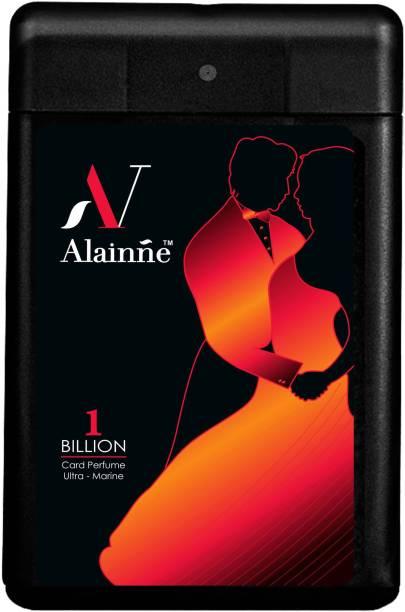 ALAINNE One Billion Ultra- Marine Pocket Perfume For MenPack of 6 (18ml Each) Perfume  -  108 ml