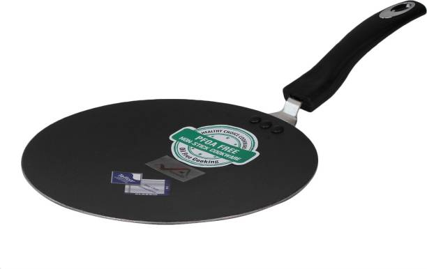 Homeish Non Stick Induction Friendly Concave Heavy Duty Tawa Large 25 5cms
