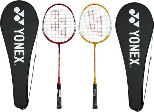 YONEX GR-303 Red, Yellow Strung Badminton Racquet