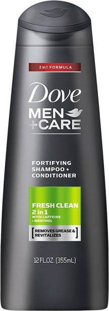 DOVE Men+Care Fresh & Clean Fortifying 2-in-1 Shampoo and Conditioner 355ml