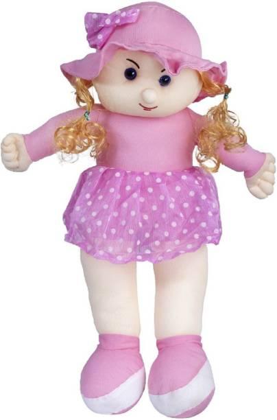 ARD ENTERPRISE Candy Girl Stuffed Toy-Pink