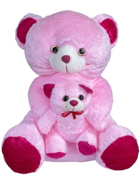ARD ENTERPRISE HP Mother Teddy Stuffed Toy-Pink