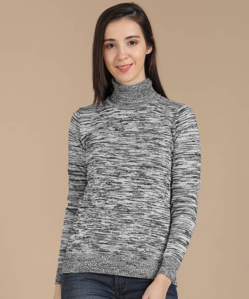 5523098a2a9 High Neck Sweater - Buy High Neck Sweater online at Best Prices in ...