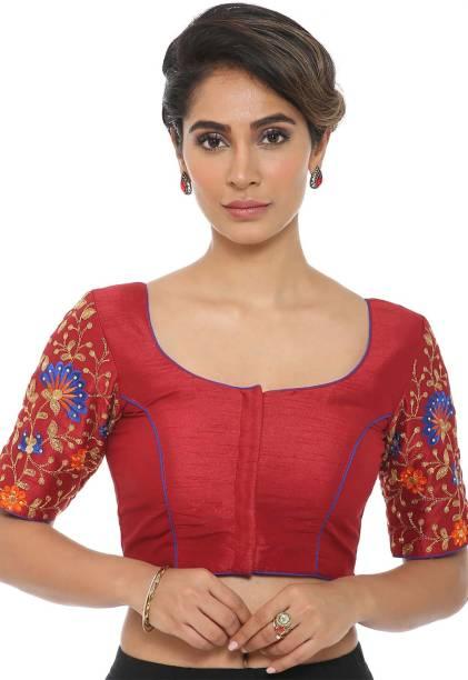 b28fcdf76f1673 Velvet Blouses - Buy Velvet Blouses Online at Best Prices In India ...