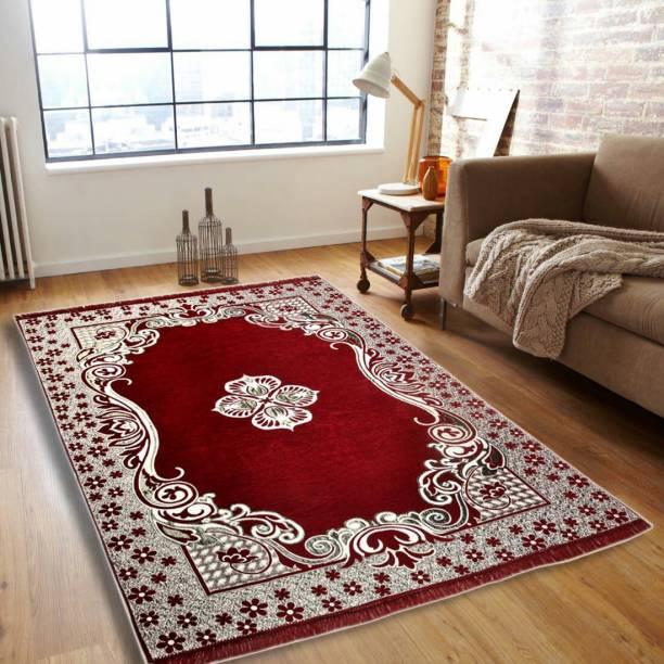 Bhoriaprints Multicolor Cotton Carpet