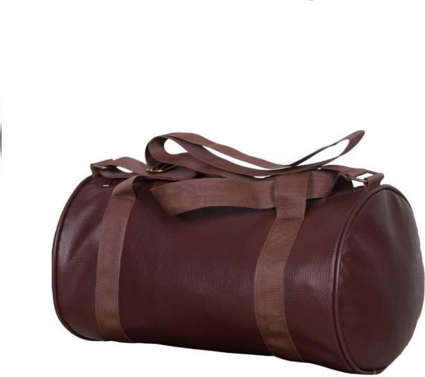 cc36b5340760 FlyCatcher (Expandable) Antique Leather SKN - 83 Multipurpose Gym And  Travel Bag Gym Bag