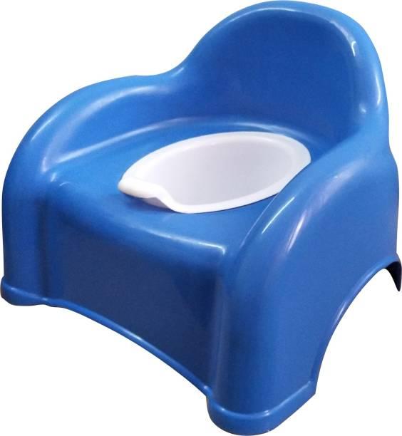 54955563fa4 Welo Baby Plastic Potty Chair (blue) Potty Box