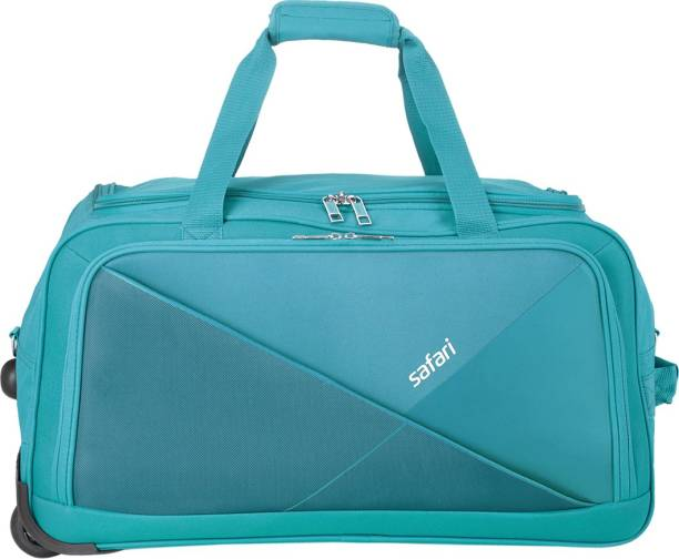 d2eae05987b9 Safari 55 inch 140 cm (Expandable) PRET 55 TEAl RDFL Duffel Strolley Bag